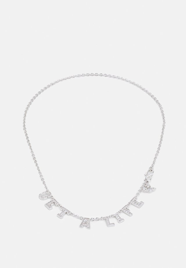 GET A LIFE NECKLACE - Necklace - white