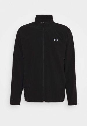 LAUNCH 3.0 STORM JACKET - Löparjacka - black/black/reflective