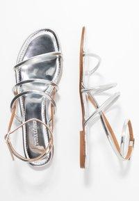 Pura Lopez - Sandals - mirror argento - 3