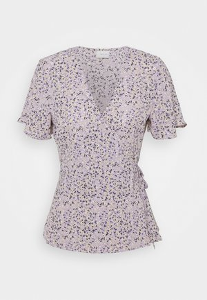 VILOVIE WRAP - Print T-shirt - lavender