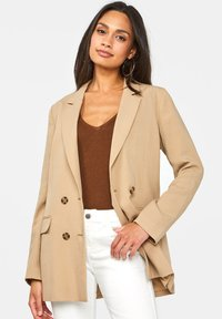WE Fashion - Blazere - beige - 0