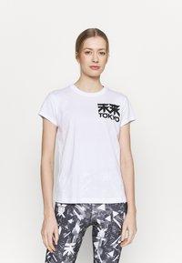 ASICS - FUTURE TOKYO TEE - T-Shirt print - brilliant white - 0