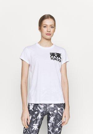 FUTURE TOKYO TEE - Print T-shirt - brilliant white
