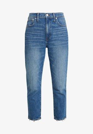 HIGH RISE SLIM BOYJEAN IN MITSUI - Džíny Straight Fit - light-blue denim