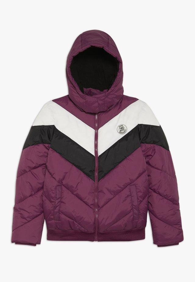 TEENAGER - Zimní bunda - berry