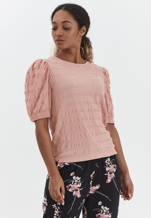 BYSANNY - T-shirt con stampa - rose tan