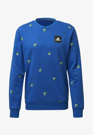 MUST HAVES GRAPHIC CREW SWEATSHIRT - Sweatshirts - blue