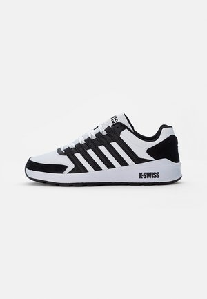 VISTA TRAINER - Sneakers laag - white/black