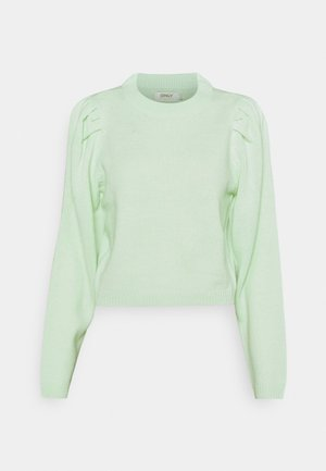 ONLNICOYA  PUFF - Jumper - clearly aqua