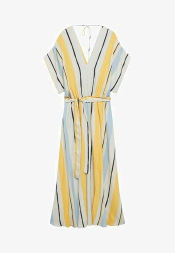 Denní šaty - żółty