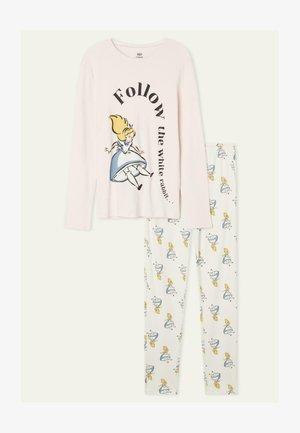 MIT DISNEY ALICE FOLLOW ME - Pyjamas - cloud pink alice print