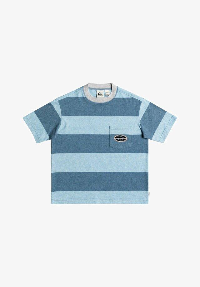 T-shirt print - captain blue full charge