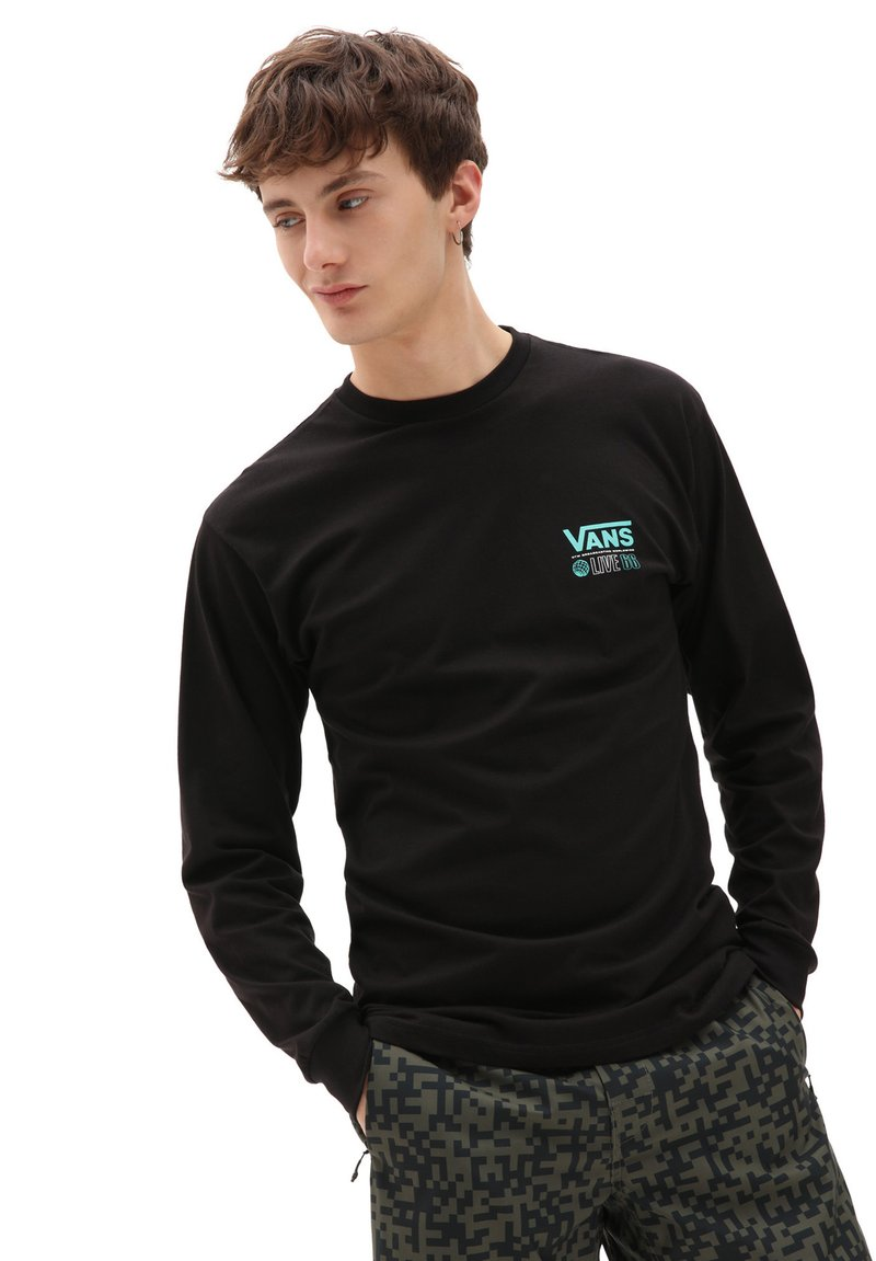 Vans - MN BROADCAST 66 LS - Long sleeved top - black
