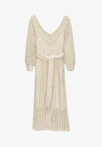 Uterqüe - Jumper dress - beige - 4