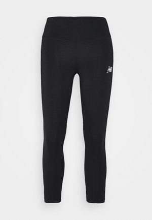 IMPACT RUN CROP - Collant - black