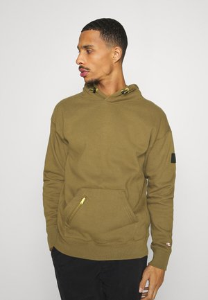 LEGACY CONTEMPORARY MODERN HOODED - Bluza z kapturem - olive