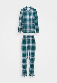 Hunkemöller - CHECK SET - Pyjama - atlantic deep - 0