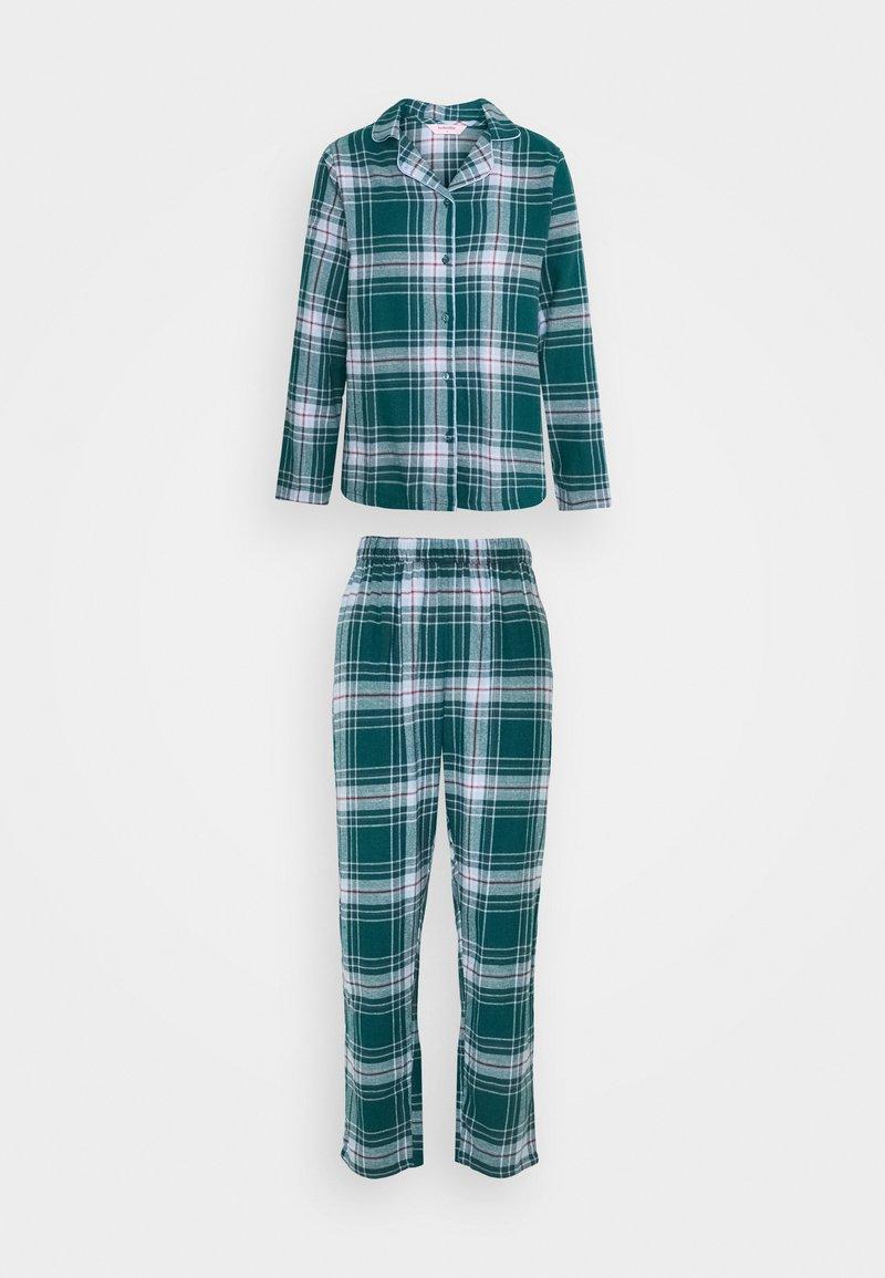 Hunkemöller - CHECK SET - Pyjama - atlantic deep
