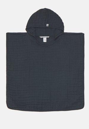 PONCHO UNISEX - Bath towel - blue