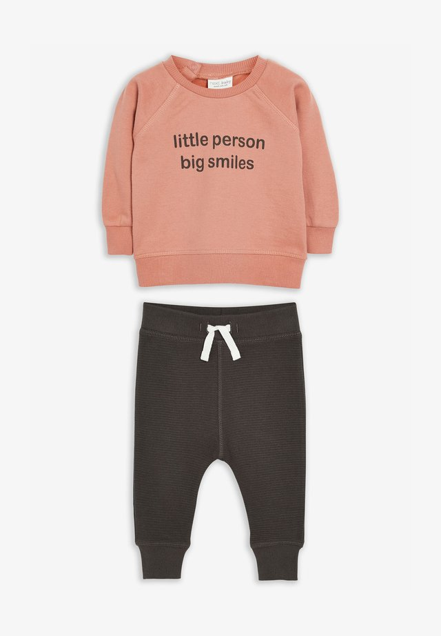 SLOGAN SET - Sweatshirt - pink