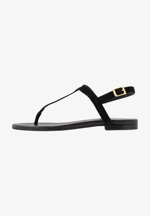 ANGELIS - T-bar sandals - black