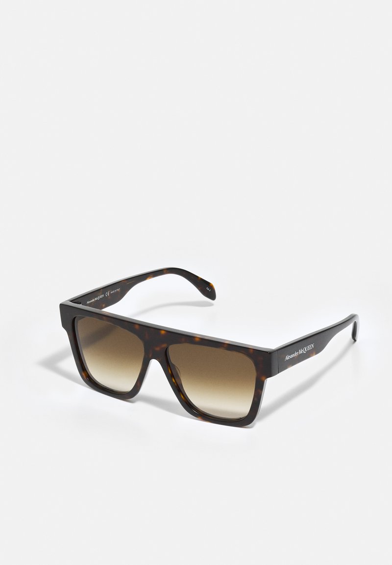 Alexander McQueen - UNISEX - Aurinkolasit - havana/havana/brown