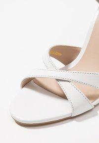 KIOMI - High heeled sandals - white - 2