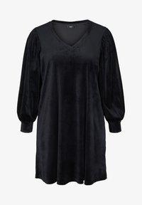 Zizzi - Jersey dress - black - 3