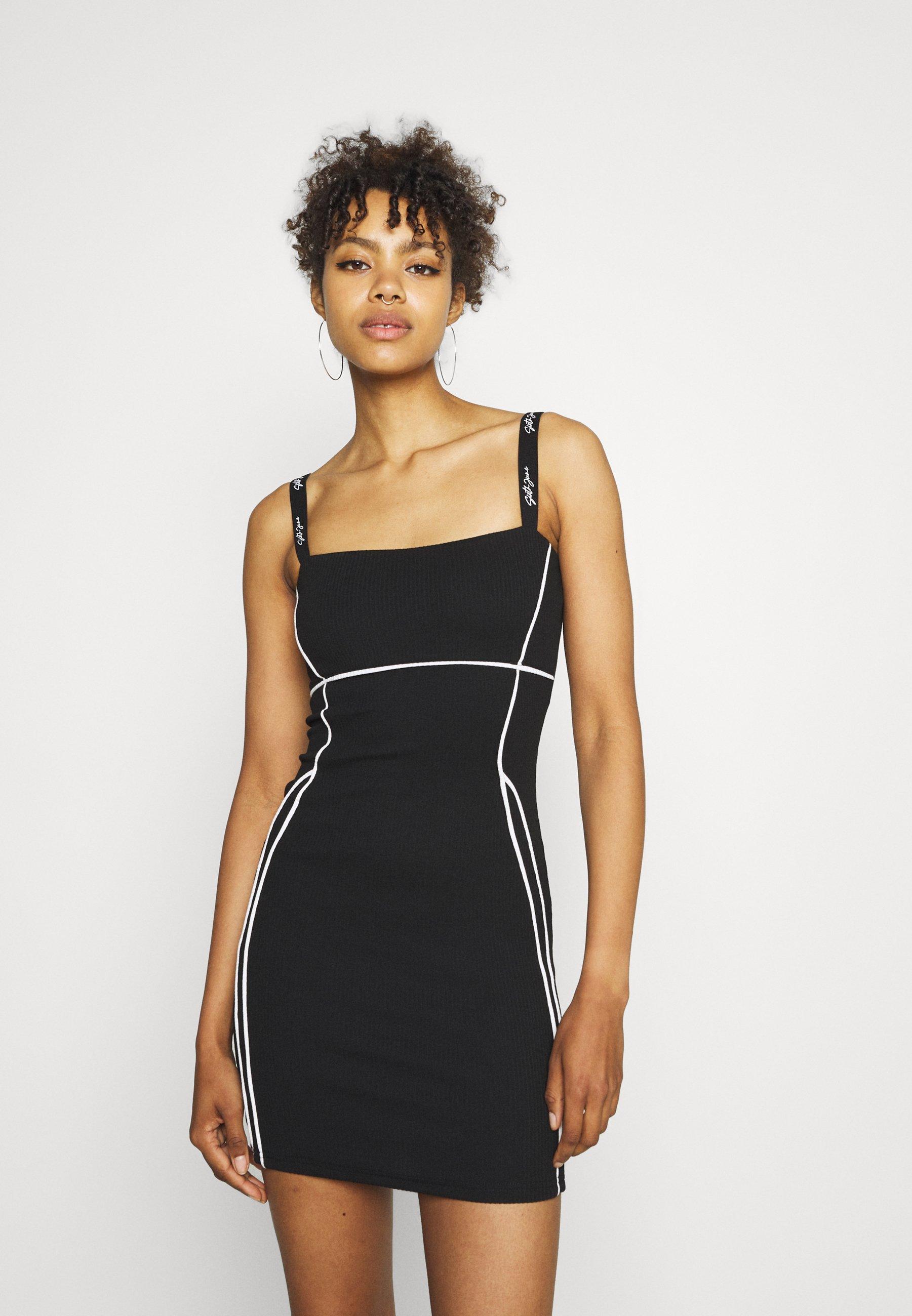 Women SEXY LINES DRESS - Day dress
