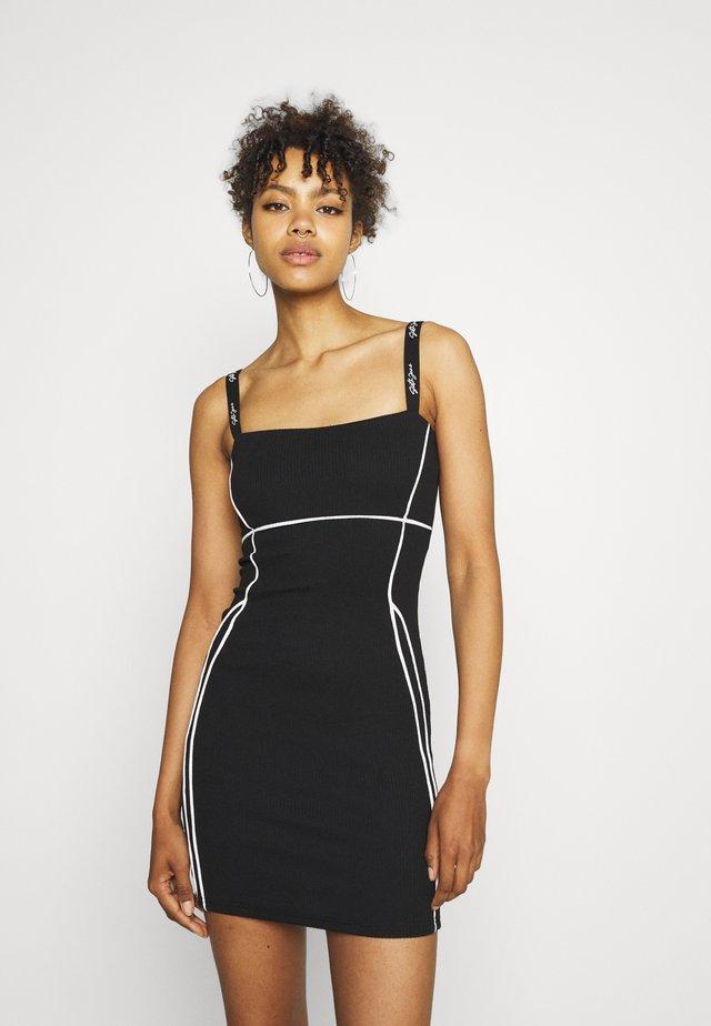 SEXY LINES DRESS - Sukienka letnia - black