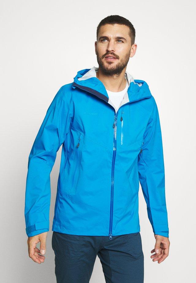 KENTO - Hardshell jacket - gentian