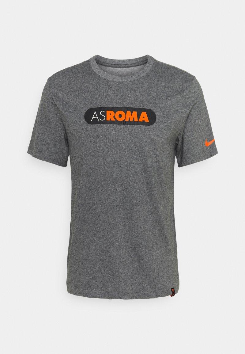 Nike Performance - AS ROM DRY TEE GROUND - T-shirt imprimé - charcoal heathr