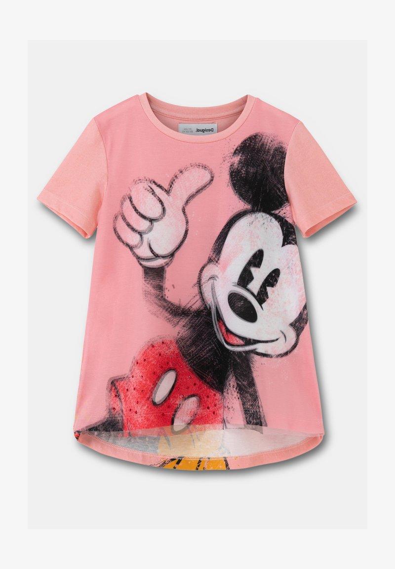 Desigual - MARY - Print T-shirt - red