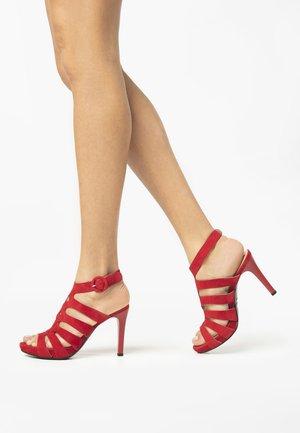 Sandales - ciliegia