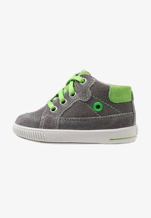 MOPPY - High-top trainers - grau/grün