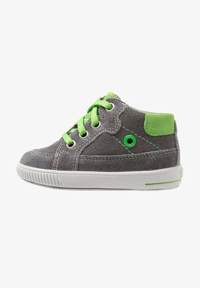 MOPPY - Vysoké tenisky - grau/grün
