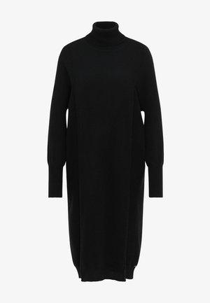 Sukienka dzianinowa - schwarz