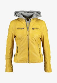 Gipsy - NOHLA - Leather jacket - yellow - 6