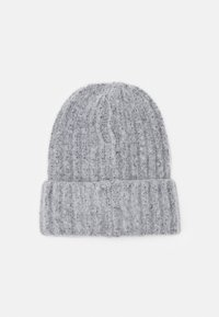 Pieces - PCPYRON STRUCTURED HOOD  - Beanie - light grey - 1