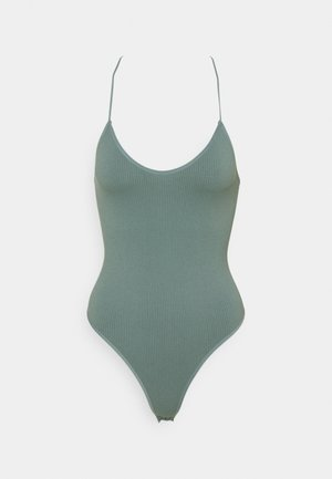 BUNGEE STRAP THONG BODYSUIT - Top - stormy sea