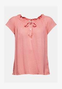 Esprit - BLOUSE - Print T-shirt - coral - 7