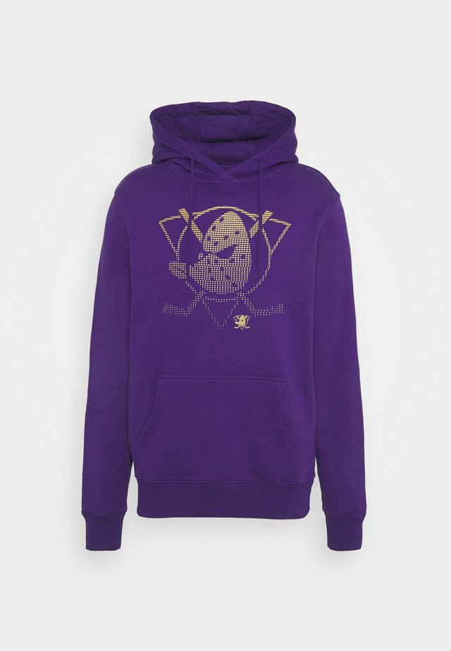 NHL ANAHEIM DUCKS FADE CORE GRAPHIC HOODIE - Fanartikel - purple