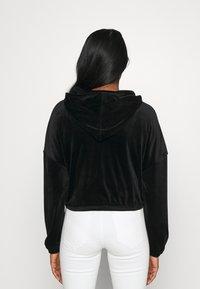 ONLY - ONLLAYA - Zip-up hoodie - black - 2
