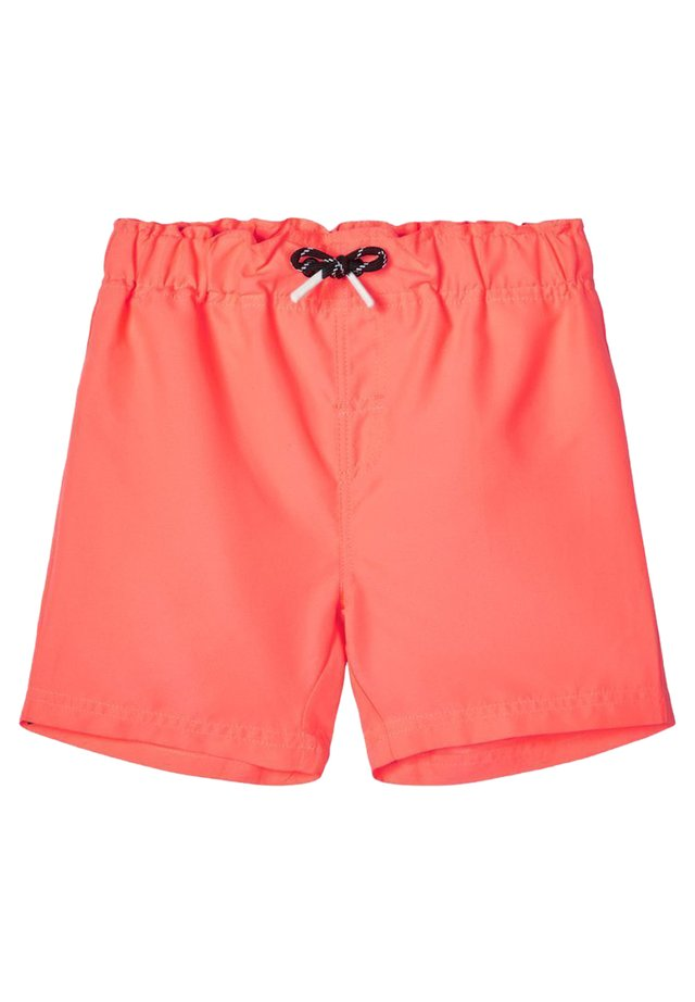 BADESHORTS NEONFARBIGE - Swimming shorts - neon coral