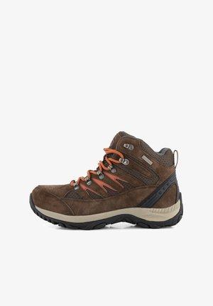 NYBORG - Hiking shoes - brown