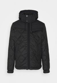 G-Star - ATTACC HEATSEAL QUILTED - Light jacket - namic heatpress padded black - 5