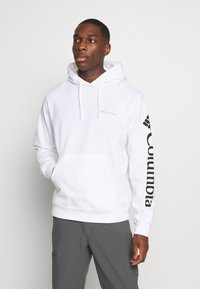Columbia - VIEWMONTII SLEEVE GRAPHIC HOODIE - Sweat à capuche - white - 0