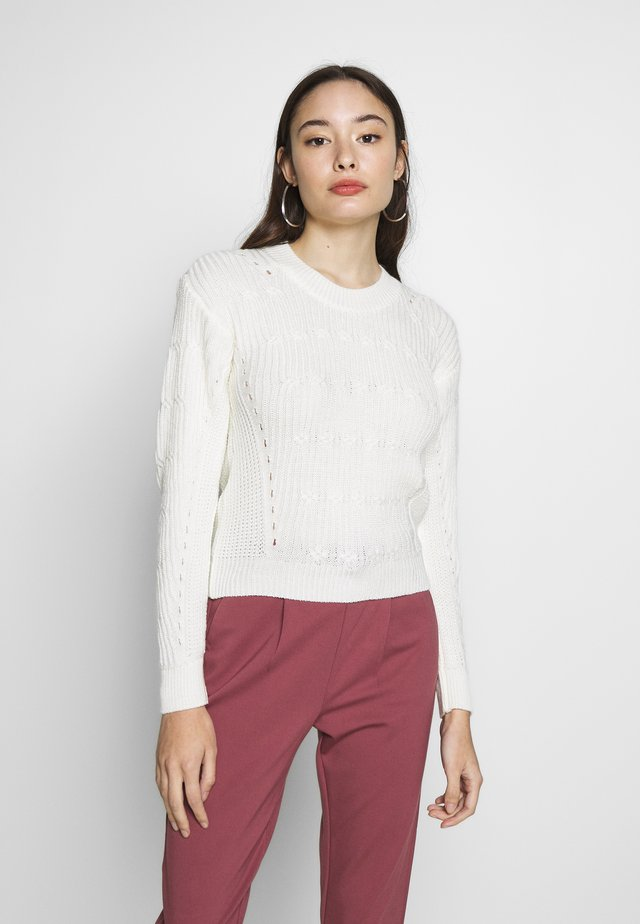 JUMPER - Neule - cream