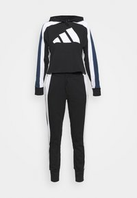 adidas Performance - BIG LOGO SET - Tracksuit - black/white - 6