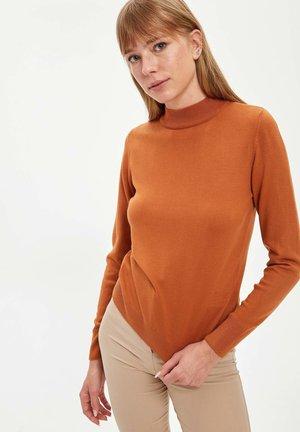 Strikpullover /Striktrøjer - orange